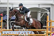 HUNTER VALLEY II ridden by Sammi Birch (Australia) during the final jumping event at Bramham International Horse Trials 2016 at  at Bramham Park, Bramham, United Kingdom on 12 June 2016. Photo by Mark P Doherty.