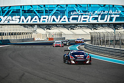 December 15, 2018 - Abu Dhabi, EMIRATS ARABES UNIS - 44 ATTEMPTO RACING AUDI R8 LMS GT3 PRO CLEMENS SCHMID (AUT) SEAN WALKINSHAW (GBR) GIORGIO RODA  (Credit Image: © Panoramic via ZUMA Press)
