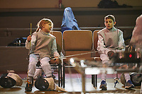 Fencing class Monday, February 18, 2019. <br /> Photo Harrison McClary/Nolensville's News & Observer