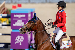 Philippaertsd Nicola, BELSpringsteen Jessica, USA, RMF Swinny du Parc<br /> Longines FEI Jumping Nations Cup™ Final<br /> Barcelona 20128<br /> © Hippo Foto - Dirk Caremans<br /> 06/10/2018