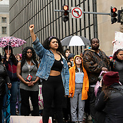 Hundreds of Students from Pittsburgh Public Schools and Universities march though out Pittsburgh in Protest of Rosfeld Not Guilty Verdict. Rosfeld was found not guilty on Friday evening in last summer's fatal shooting of Antwon Rose, after the car he was riding in was suspected in being involved in a shooting.