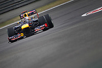 MOTORSPORT - F1 2012 - CHINA GRAND PRIX - SHANGHAI (CHN) - 15 TO 18/04/2012 - PHOTO : FREDERIC LE FLOCH / DPPI - <br /> VETTEL SEBASTIAN (GER) - RED BULL RENAULT RB8 - ACTION