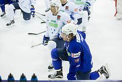 Anze Kopitar during practice session of Slovenian National Ice Hockey Team prior to the IIHF World Championship in Ostrava (CZE), on April 21, 2015 in Hala Tivoli, Ljubljana, Slovenia. Photo by Vid Ponikvar / Sportida