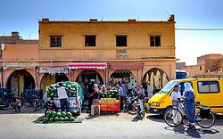 Fruit and vegetable market in Tagounite, Morocco<br /> <br /> (c) Andrew Wilson | Edinburgh Elite media