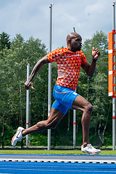Churandy Martina in action during the Press presentation of the olympic team Athletics on July 8, 2021 in Papendal Arnhem