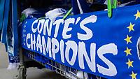 Football - 2016 / 2017 Premier League - Chelsea vs. Sunderland <br /> <br /> Scarves for sale outside the stadium  at Stamford Bridge.<br /> <br /> COLORSPORT/DANIEL BEARHAM