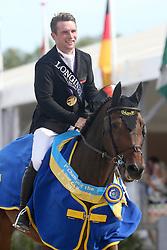 Howley Richard, IRL, Uppercourt Cappuchino<br /> Final 5 years  old Horses<br /> Zangersheide FEI World Breeding Jumping Championship 2018<br /> © Hippo Foto - Julien Counet