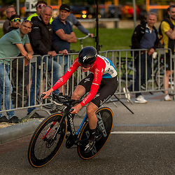 UTRECHT (NED) July 8 CYCLING: <br />Proloog Baloise Belgium tour<br />Christine Majerus