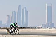 Foto LaPresse - Fabio Ferrari<br /> 22 Febbraio 2021 Abu Dhabi (Emirati Arabi Uniti)<br /> Sport Ciclismo<br /> UAE Tour 2021 -ABU DHABI SPORTS COUNCIL STAGE-<br /> Tappa 2 - Da Al Hudayriyat Island a Al Hudayriyat<br /> Island- ITT - 13 km.<br /> Nella foto: ALMEIDA Joao (POR)(DECEUNINCK - QUICK-STEP)<br /> <br /> Photo LaPresse - Fabio Ferrari<br /> February 22 2021 Abu Dhabi (United Arab Emirates) <br /> Sport Cycling<br /> UAE Tour 2021 -ABU DHABI SPORTS COUNCIL STAGE-<br /> Stage 2 - From Al Hudayriyat Island at Hudayriyat<br /> Island - ITT -8,07 miles<br /> In the pic: ALMEIDA Joao (POR)(DECEUNINCK - QUICK-STEP)