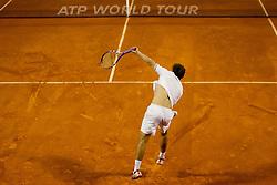 Albert Ramos (ESP) during a tennis match against  Ivan Dodig (CRO) in the 1st round of singles at 22nd ATP Studena Croatia Umag 2011, on July 25, 2011, in Umag, Croatia.  (Photo by Vid Ponikvar / Sportida)