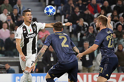 November 7, 2018 - Turin, Turin, Italy - Cristiano Ronaldo #7 of Juventus FC in action during  the UEFA Champions League group H match between Juventus FC and Manchester United at Allianz Stadium on November 07, 2018 in Turin, Italy. (Credit Image: © Giuseppe Cottini/NurPhoto via ZUMA Press)