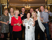 03/11/2016 Repro fee: Rita Gilligan's book The Rock 'n' Roll Waitress from The Hard Rock Cafe My Life in Hotel Meyrick, Galway was launched my Cllr. Noel Larkin Mayor of Galway. At the launch were Rita Gilligan and her extended family in Galway  Photo :Andrew Downes, XPOSURE