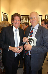 Left to right, JOHN MADEJSKI and SIR TIM RICE at an exhibition of photographs by Lord Snowdon held at the Chris Beetles Gallery, Ryder Street, London on 18th September 2006.<br /><br />NON EXCLUSIVE - WORLD RIGHTS