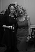 ANNA STOTHARD; SALLY EMERSON;, The launch of Fire Child by Sally Emerson. Hosted by Sally Emerson and Naim Attalah CBE. Dean St. London. 22 March 2017