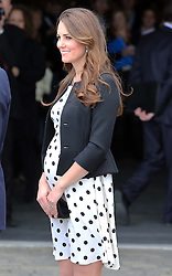 The Duchess of Cambridge leaving the Warner Bros. Studios in Leavesden, Herts, Friday 26th April 2013  Photo by: Stephen Lock / i-Images