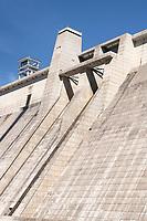 Libby Dam on the Kootenai River Montana