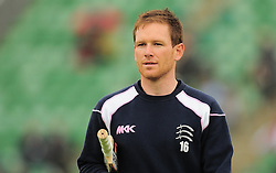 Eoin Morgan of Middlesex looks on.  - Mandatory by-line: Alex Davidson/JMP - 15/07/2016 - CRICKET - Cooper Associates County Ground - Taunton, United Kingdom - Somerset v Middlesex - NatWest T20 Blast