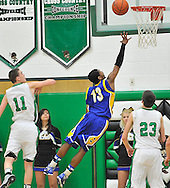 Clearview at Columbia boys varsity basketball on February 8, 2013. Images © David Richard and may not be copied, posted, published or printed without permission.