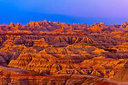 USA-South Dakota-Badlands National Park