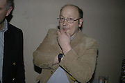 Simon Keeling 50th Birthday. Cabinet War Rooms, Cabinet War Rooms, Clive Steps, King Charles St, W1 23 January 2007.  -DO NOT ARCHIVE-© Copyright Photograph by Dafydd Jones. 248 Clapham Rd. London SW9 0PZ. Tel 0207 820 0771. www.dafjones.com.