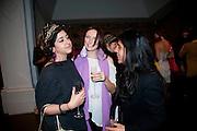 RADHIKA KHIMJI; LIA CHAVEZ; ZARINA BHIMJI, Hannah RickardÕs exhibition; No, there was no red.9. MaxMara Prize for Women, in collaboration with the Whitehachapel Gallery. Whitechapel. London.  September 2009.<br /> RADHIKA KHIMJI; LIA CHAVEZ; ZARINA BHIMJI, Hannah Rickard?s exhibition; No, there was no red.9. MaxMara Prize for Women, in collaboration with the Whitehachapel Gallery. Whitechapel. London.  September 2009.