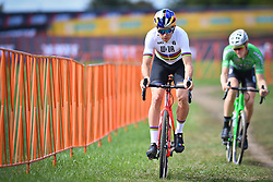 September 22, 2018 - Waterloo, UNITED STATES - Belgian Wout Van Aert pictured in action during a training session in preparations for tomorrow's first UCI World Cup cyclocross race of the 2018-2019 cyclocross season in Waterloo (WI), USA, Saturday 22 September 2018. BELGA PHOTO DAVID STOCKMAN (Credit Image: © David Stockman/Belga via ZUMA Press)
