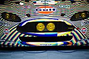 June 8-14, 2015: 24 hours of Le Mans: #97 ASTON MARTIN RACING, ASTON MARTIN VANTAGE V8, Darren TURNER, Stefan MÜCKE, Rob BELL, art car