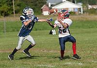 Gilford Youth Football with Merrimack Valley September 15, 2013.    © 2013 Karen Bobotas Photographer