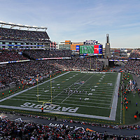 Gillette Stadium photography images are available as museum quality photography prints, canvas prints, acrylic prints or metal prints. Prints may be framed and matted to the individual liking and decorating needs:<br /> <br /> http://juergen-roth.artistwebsites.com/featured/new-england-patriots-juergen-roth.html<br /> <br /> New England Patriots versus Tennessee Titans battling it out in Gillette Stadium on a sunny Sunday afternoon. Sport football fans went nuts over this huge NFL Patriots win. Patriots won this game 33 to 16. Gillette Stadium is a stadium located in Foxborough, Massachusetts, 21 miles southwest of downtown Boston and 20 miles from downtown Providence, Rhode Island. It serves as the home stadium and administrative offices for both the NFL New England Patriots football franchise and the MLS New England Revolution soccer team. In 2012, it also became the home stadium for the football program of the University of Massachusetts (UMass), making it the largest football stadium in the Mid-American Conference. The facility opened in 2002, replacing the old Foxboro Stadium. The seating capacity is 68,756, including 6,000 club seats and 87 luxury suites. The stadium is owned and operated by Kraft Sports Group, a subsidiary of The Kraft Group, the company through which businessman Robert Kraft owns the Patriots and Revolution.<br /> Good light and happy photo making!<br /> My best,<br /> <br /> Juergen<br /> www.RothGalleries.com<br /> https://www.facebook.com/naturefineart<br /> @NatureFineArt