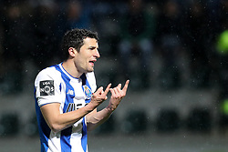 March 11, 2018 - Pacos Ferreira, Pacos Ferreira, Portugal - Porto's Spanish defender Ivan Marcano reacts during the Premier League 2017/18 match between Pacos Ferreira and FC Porto, at Mata Real Stadium in Pacos de Ferreira on March 11, 2018. (Credit Image: © Dpi/NurPhoto via ZUMA Press)