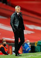 Football - 2019 / 2020 Premier League - Manchester United vs Southampton<br /> <br /> Ole Gunnar Solskjaer manager of Manchester United  at Old Trafford<br /> <br /> COLORSPORT/LYNNE CAMERON