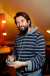 Portrait of Simon Potnik, priest in Slovenj Gradec, on November 5, 2020 in Slovenj Gradec, Slovenia. Photo by Vid Ponikvar/Sportida