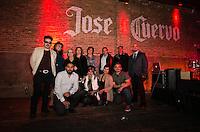 Jose Cuervo artist group opening night reception of Mexican American artist.