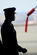 030921 King Felipe Visits to the Air Force's Matacan School Group (GRUEMA)