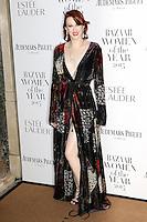 Karen Elson, Harper's Bazaar Women of the Year Awards, Claridge's, London UK, 03 November 2015, Photo by Richard Goldschmidt
