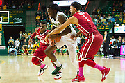 WACO, TX - JANUARY 24: Taurean Prince #21 of the Baylor Bears drives to the basket against the Oklahoma Sooners on January 24, 2015 at the Ferrell Center in Waco, Texas.  (Photo by Cooper Neill/Getty Images) *** Local Caption *** Taurean Prince