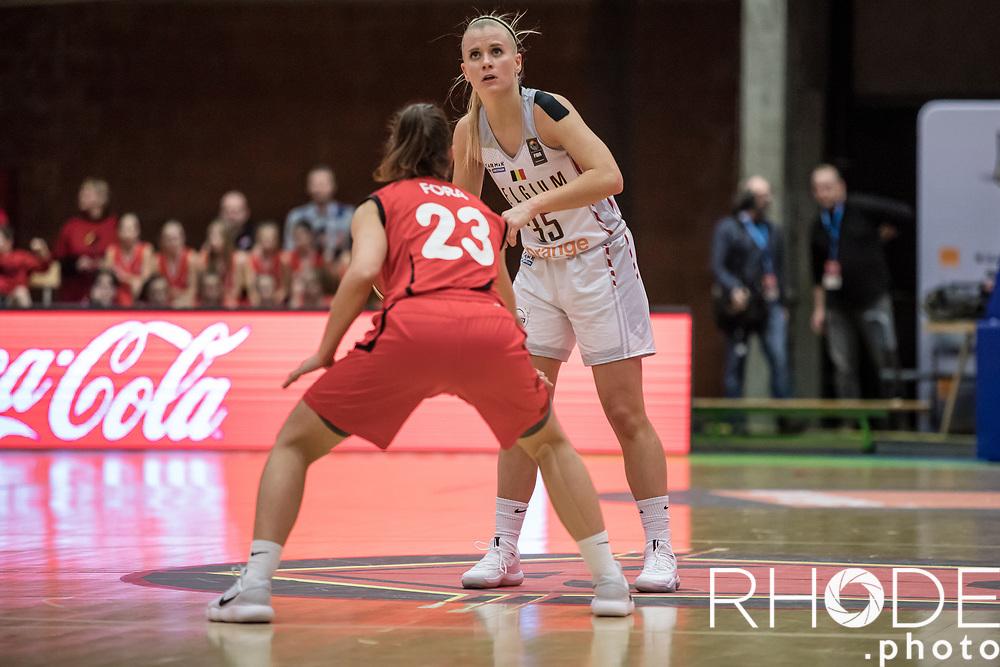 2019-02-14<br /> Belgian Cats <br /> FIBA Eurobasket 2019 Qualifier <br /> Belgium - Suisse : 98-58