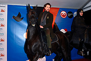 Koning Willem-Alexander en koningin Maxima openen het evenement Leeuwarden-Fryslan 2018, Culturele Hoofdstad van Europa (LF2018)<br /> <br /> King Willem-Alexander and Queen Maxima open the event Leeuwarden-Fryslan 2018, Cultural Capital of Europe (LF2018)<br /> <br /> Op de foto / On the photo:  Jelle de Jong