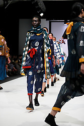 241018 2nd day of SA Fashion week took place as they were also celebrating their 21st birthday in Sandton Johannesburg South Africa.The theme on this particular show was BRICS.Designers from the BRICS member countries show cased on this day.Photo Simphiwe Mbokazi African News Agency/ANA n