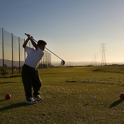The First Tee of Monterey County opens the door to golf, as well as academic tutoring,  to many underprivileged kids of Salinas, CA, like Jose Calderon. Jose takes his turn playing on the 9 hole course, a privilege that kids have to earn.
