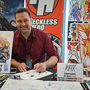 Business Design Centre, England, UK. 23rd August 2017. Imber is a artist stall at the London Super Comic Convention 2017.