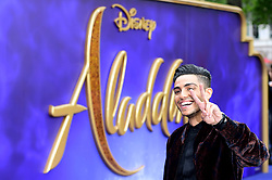 Mena Massoud attending the Aladdin European Premiere held at the Odeon Luxe Leicester Square, London.