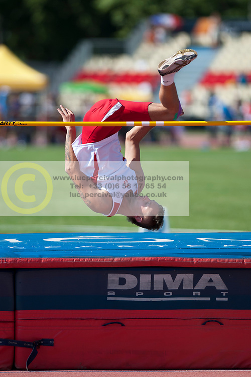MAMCZARZ Lukasz, POL, High Jump, T42/44, 2013 IPC Athletics World Championships, Lyon, France