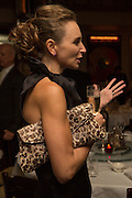JO MANOUKIAN, Dinner in aid of the China Tiger Revival hosted by Sir David Tang and Stephen Fry  at China Tang, Park Lane, London. 1 October 2013. ,