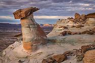 Sandstone rock formations, Studhorse Point, Utah, near Page, Arizona