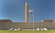 A view of the Liberty Tower at the World War I Museum in Kansas City, Missouri
