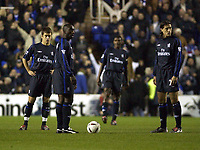 Picture: Henry Browne.<br />Date: 03/12/2003.<br />Chelsea v Reading Carling Cup 4th Round.<br />Chelsea fielded a strong side