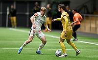 Fotball , 14. februar 2020 , Privatkamp , Bodø/Glimt - Strømsgodset 5-0<br /> Jonathan Parr , SIF<br /> Philip Zinckernagel , Glimt