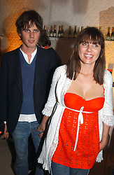 SADIE FROST and JACKSON SCOTT at a party to celebrate the opeing of the new Paul & Joe Boutique at 134 Sloane Street, London SW1 on 14th April 2005.<br /><br />NON EXCLUSIVE - WORLD RIGHTS