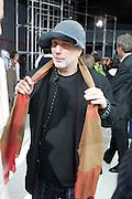 RON ARAD, Yohji Yamamoto exhibition opening. V & A Museum. London. 10 March 2011. -DO NOT ARCHIVE-© Copyright Photograph by Dafydd Jones. 248 Clapham Rd. London SW9 0PZ. Tel 0207 820 0771. www.dafjones.com.